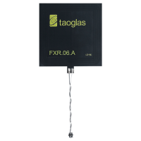FXR.06.52.0075X.A NFC Flex PCB antenna with 75mm Twisted Pair 28AWG cable and ACH(F), 47*47*0.24mm