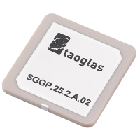 SGGP.25.2.A.02 GPS/GLONASS/GALILEO 25*25*2mm SMD Mount Patch