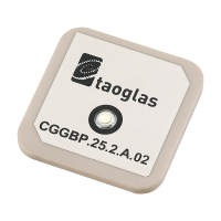 CGGBP.25.2.A.02 25*25*2mm GPS/GLONASS/GALILEO/BeiDou Patch Antenna