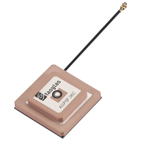 AGPSF.36C.07.0100C Active GPS L1/L2 Low Profile Stacked Patch Antenna, I-PEX MHF® I