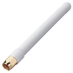 GW.48.A151W 2.4 / 5.8GHz Dual Band 3-3.5dBi White Rubber Duck Dipole Antenna with RP-SMA(M)