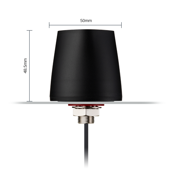 Olympian II - G45 5G/4G Cellular, Small Form Factor Permanent Mount Antenna 1