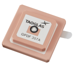 GPDF357A – Embedded GPS L1 / L2, Dual-pin, Stacked Passive Patch Antenna