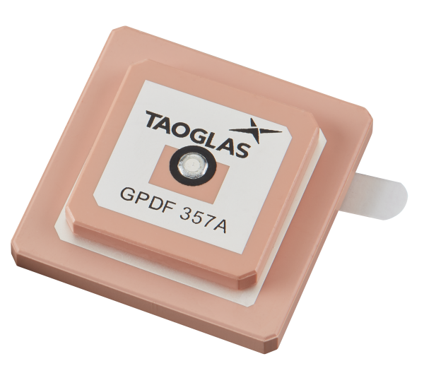 GPDF357A - Embedded GPS L1 / L2, Dual-pin, Stacked Passive Patch Antenna 1