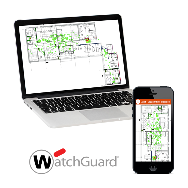Safe Workplace with WatchGuard Wi-Fi Cloud  and Taoglas® CROWD Insights™ 1