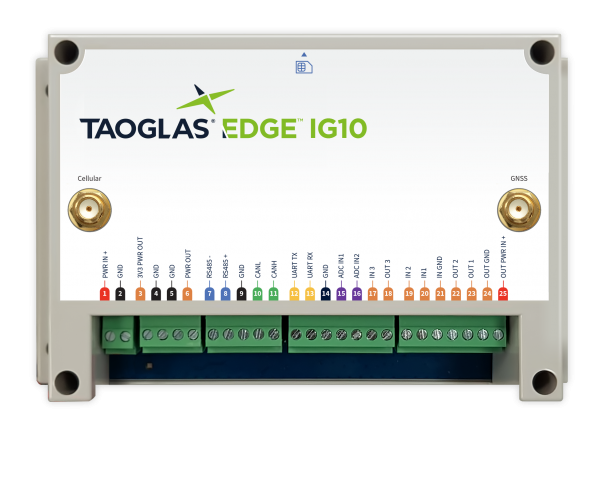 Taoglas EDGE™ IG10 Industrial Gateway Plug and Play Solution 1