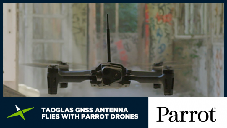 Case Study: Taoglas GNSS antenna flies with Parrot drones 38