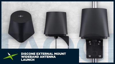Image for Taoglas Launches the Discone One, a New, High-Performance, Wideband Omnidirectional Antenna for Use in Mission Critical Communications