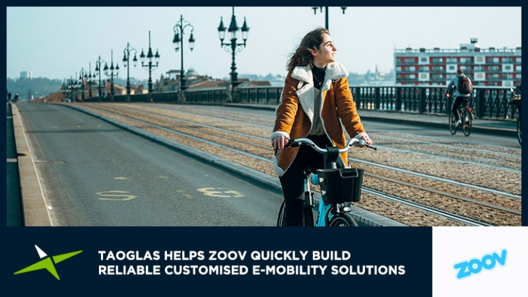 Case Study: Taoglas helps Zoov quickly build reliable customised e-mobility solutions 32