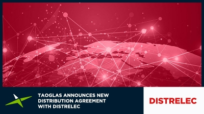 Image for Taoglas Announces New Distribution Agreement with Distrelec